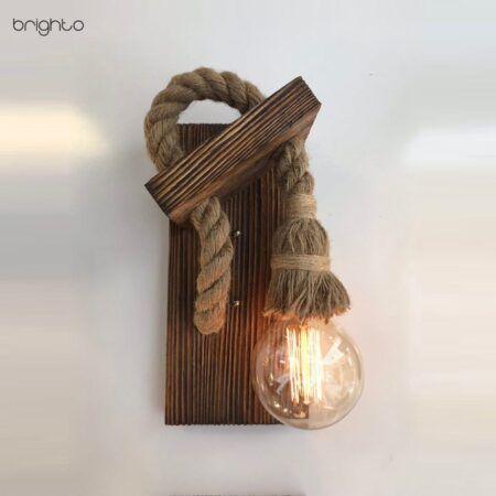 چراغ دکوراتیو چوبی