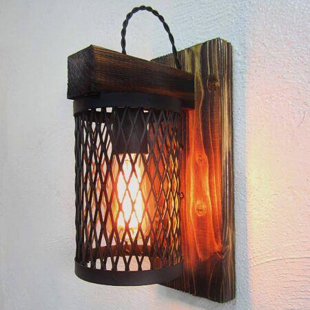 دیواری چوبی قفسی
