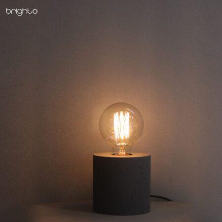 چراغ رومیزی بتنی M202